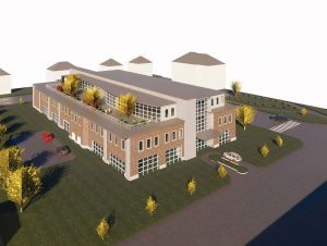Central Maine Cancer Center Rendering