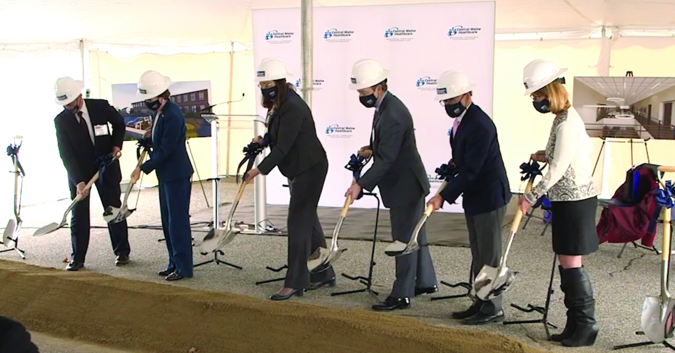 Central Maine Healthcare Cancer Care Center Groundbreaking