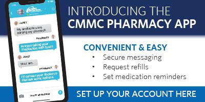 CMMC Pharmacy Phone App
